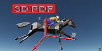 3D cad RACE, rapid amplification of cDNA ends Horse 2013.