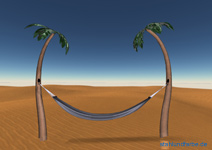 Development variable metal Palm Deco Palm at the 3d Design, consisting of a helix spiral sheet coil.