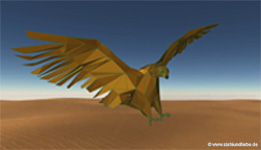 3D CAD abstract Falcon 2017.