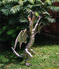 Dragon in the garden.