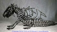 Wire dragon.