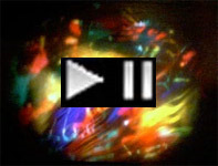 Psychedelic Light Show Diamachine Projection. Voov Experience. 1995. Digital Morph VX2.