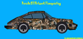 Porsche 911 Artwork Flamepainting